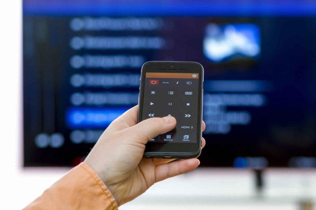 تبدیل گوشی به کنترل تلویزیون