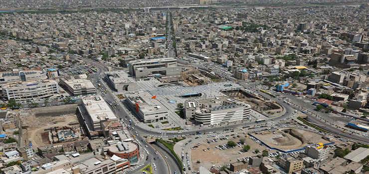محدوده میدان شهدا مشهد کجاست؟